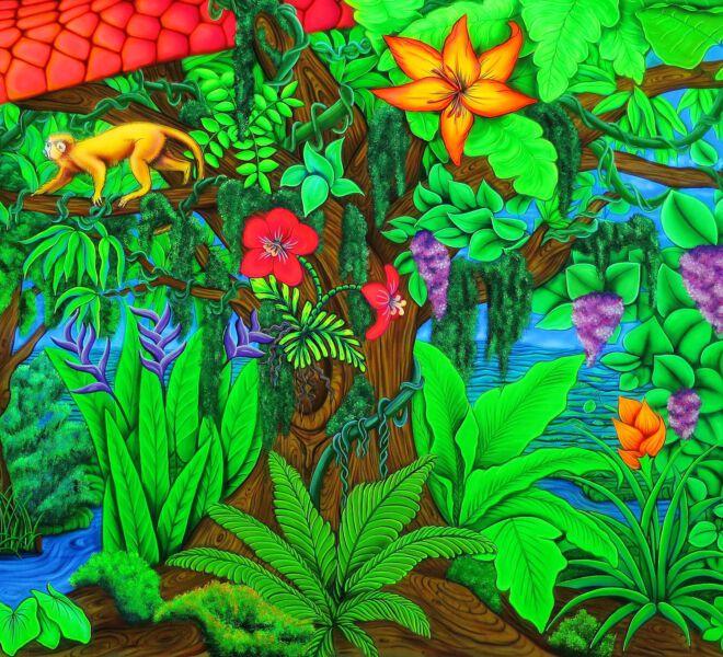 Blacklight-Jungle