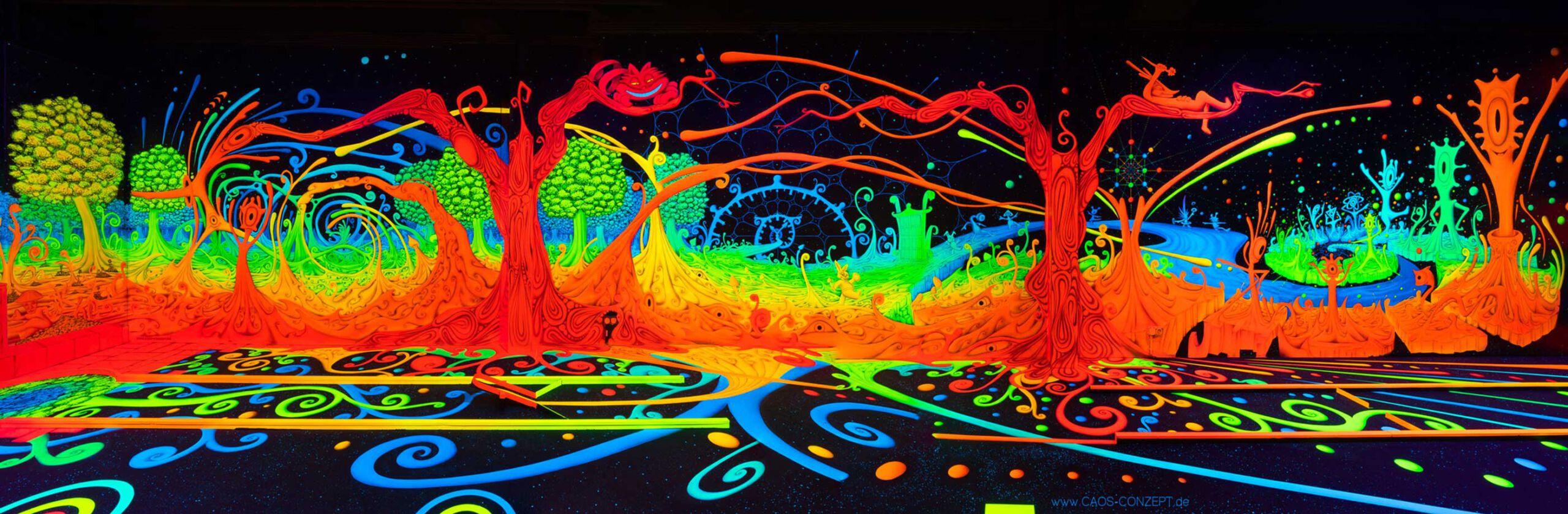 3D Blacklight Panorama