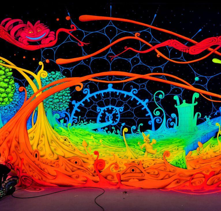 Neon Airbrush