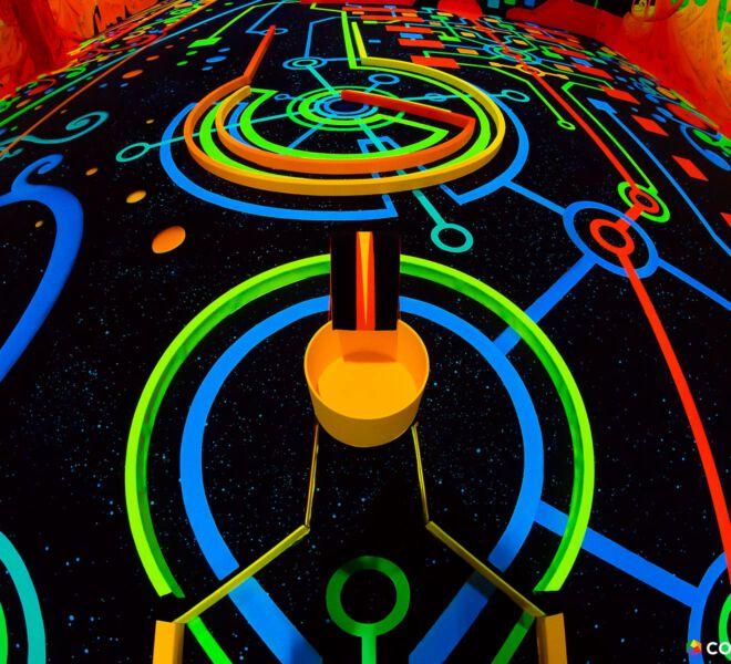 Neon Topf