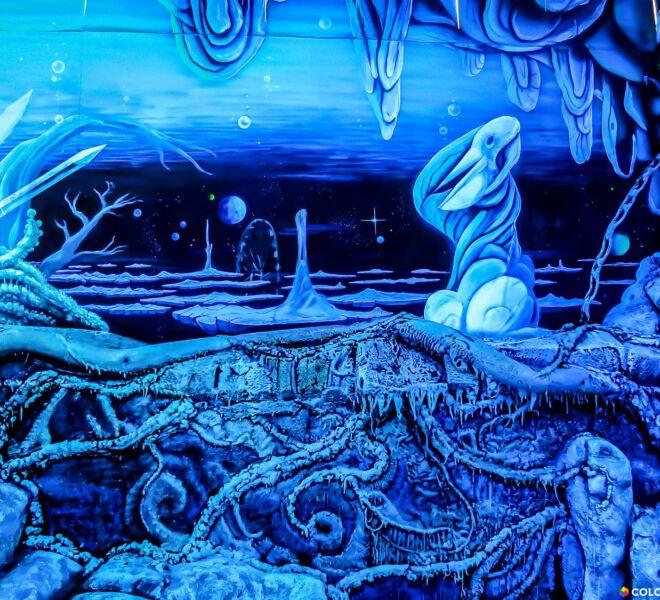 Blaue-Grotte-Pelikan