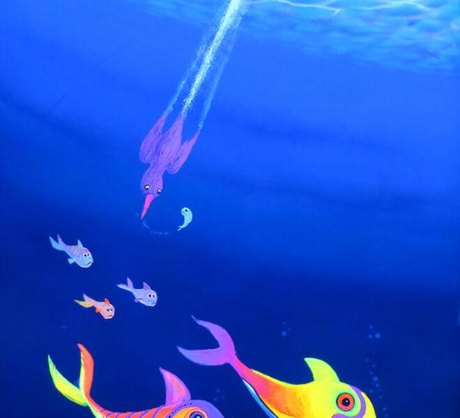 Neon-Fische