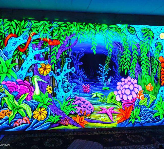 Springding-Unterwasser