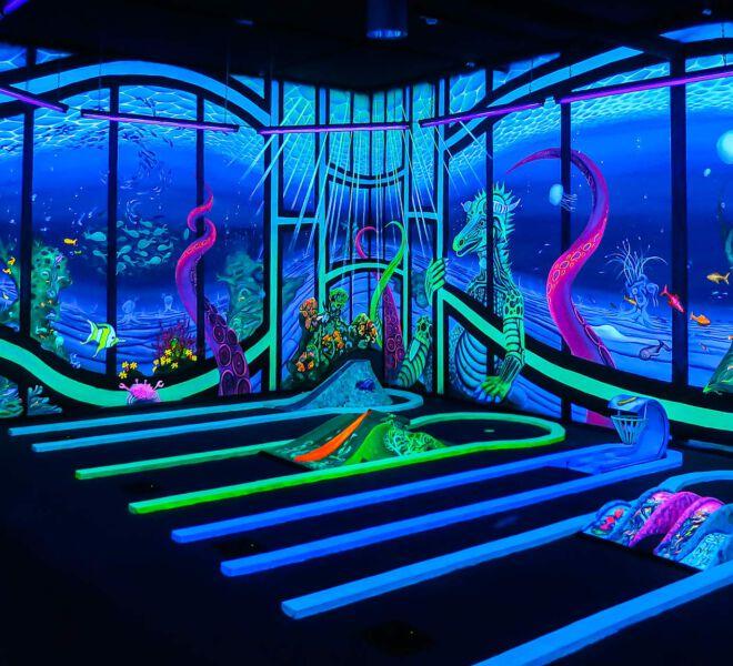 Unterwasser-uv