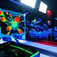 Maxi-schwarzlicht-bowling